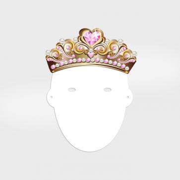 Fotomasken Prinzessin