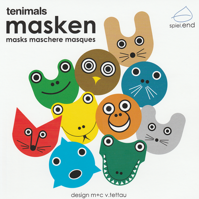 tenimals tiermasken f r kinder. Black Bedroom Furniture Sets. Home Design Ideas
