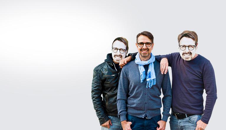 Fotomasken für Junggesellenabschied