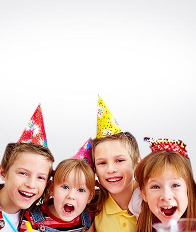 Geburtstagsmasken